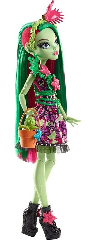 Monster High Venus Mcflytrap Doll Toy At Mighty Ape