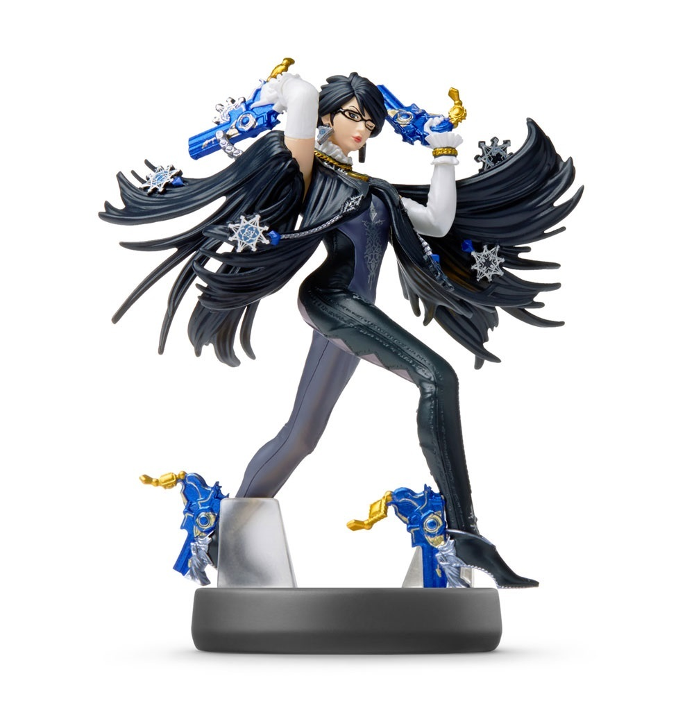Nintendo Amiibo Bayonetta 1 - Super Smash Bros. Figure for  image