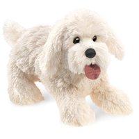Folkmanis Hand Puppet - Panting Dog image