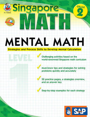 Mental Math, Grade 2   Buy Now   at Mighty Ape NZ