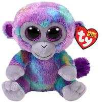 Ty Beanie Boo: Zuri Monkey - Small Plush