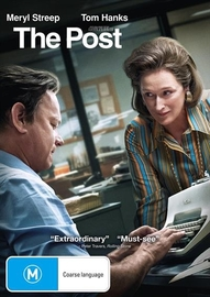 The Post on DVD image