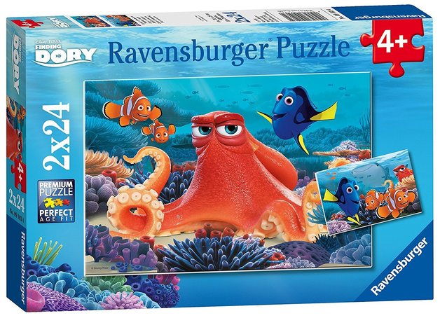 Ravensburger : Disney Finding Dory Puzzle 2x24pc