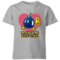 Nintendo Super Mario You're The Bob-Omb Kids' T-Shirt - Grey - 5-6 Years image