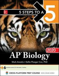 5 Steps to a 5: AP Biology 2020 by Mark Anestis image