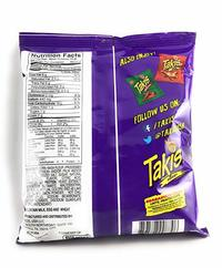 Takis Fuego Hot Chili Pepper & Lime Tortilla Chips (110g) image