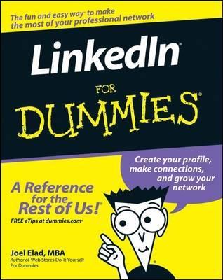 LinkedIn For Dummies by Joel Elad image