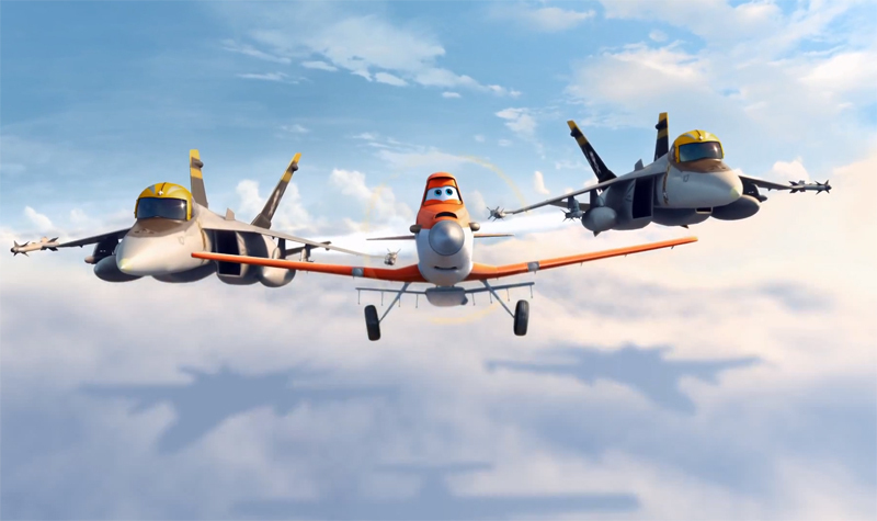 Planes on DVD image