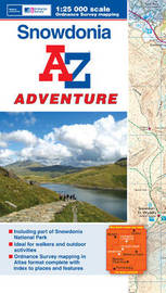 Snowdonia Adventure Atlas by Geographers A-Z Map Company