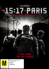 The 15:17 to Paris on DVD