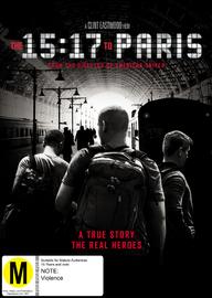 The 15:17 to Paris on DVD image