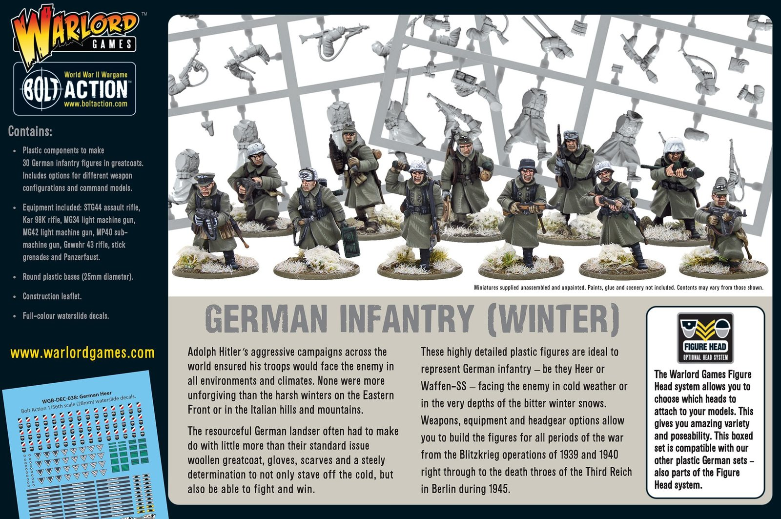Germans Infantry (Winter) image