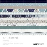 "Kaisercraft: 6.5"" Paper Pad - Wonderland"