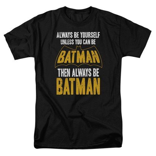 DC Comics: Be Batman - Men's T-Shirt (Medium)