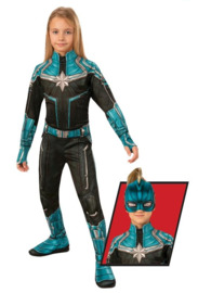 Captain Marvel: Kree Suit - Children's Costume (Large)