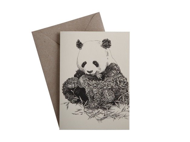 Marini Ferlazzo: Greeting Card - Giant Panda