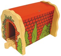 Bigjigs Rail Accessories - Red Brick Tunnel