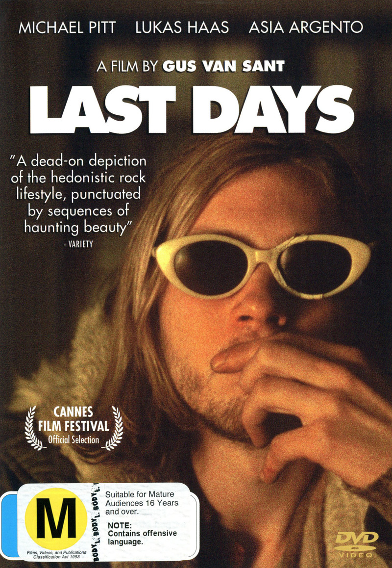 Last Days on DVD image