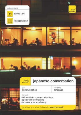 Teach Yourself Japanese Conversation by Helen Gilhooly