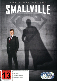 Smallville - The Complete 10th Season (The Final Season) on DVD