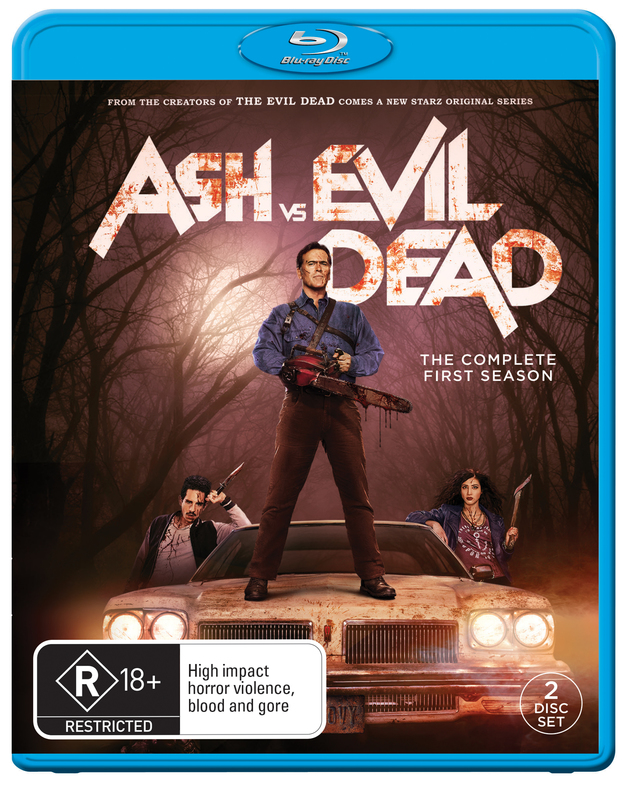 Ash Vs Evil Dead - The Complete First Season on Blu-ray
