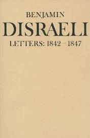 Benjamin Disraeli Letters: v. 4 by Benjamin Disraeli image