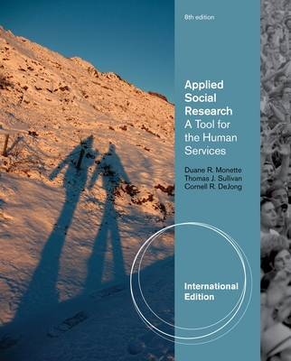 Applied Social Research: A Tool for the Human Services by Thomas Sullivan image