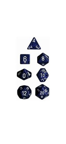 Chessex - Polyhedral Dice Set - Stealth Speckled image