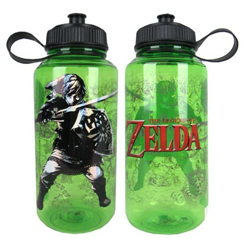 The Legend of Zelda: Map of Hyrule - Water Bottle