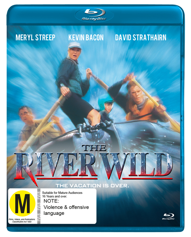 The River Wild on Blu-ray
