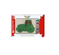 Hape - Five Tractors Puzzle