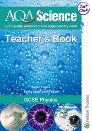AQA Science GCSE Physics Teacher's Book by Darren Forbes image