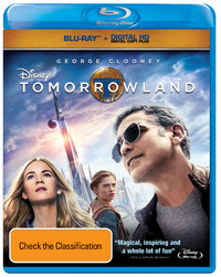 Tomorrowland on Blu-ray