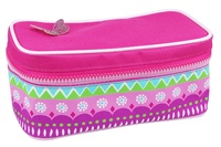 Pink Poppy: Fiesta Butterfly Cosmetics Bag - Hot Pink