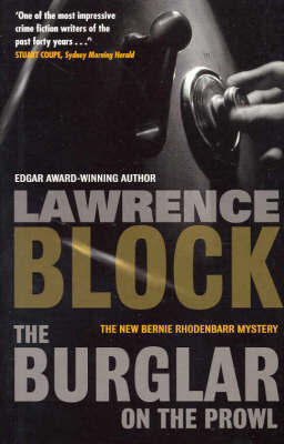 Burglar on the Prowl by Lawrence Block