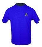 Star Trek: Science Blue Retro Starfleet T-Shirt - Medium