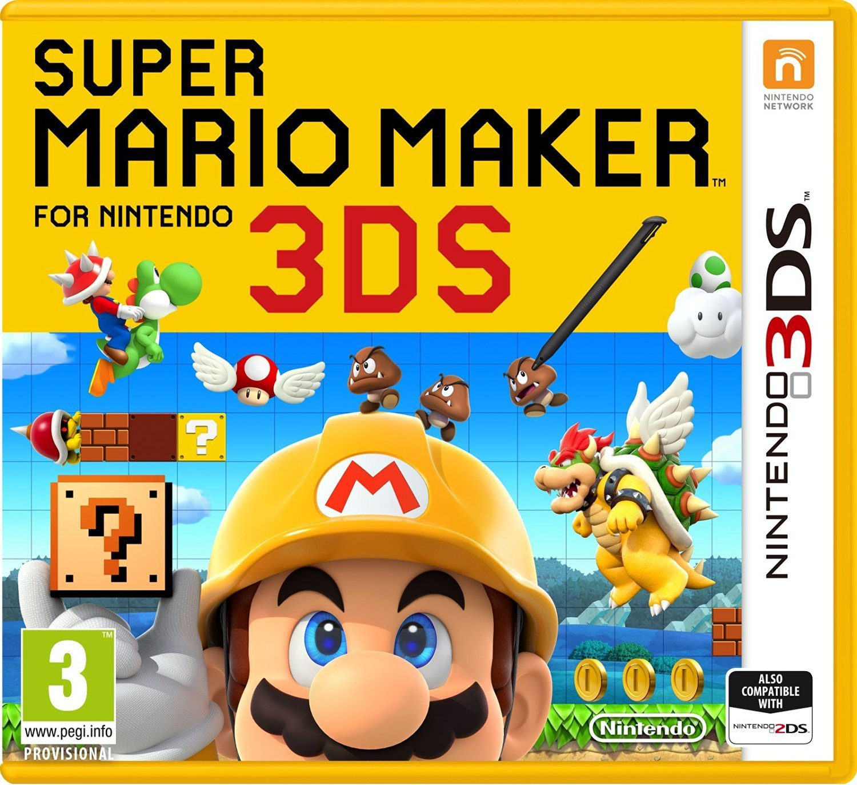 Super Mario Maker for Nintendo 3DS for Nintendo 3DS image