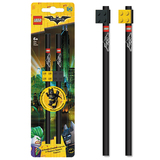 The LEGO Batman Movie: Pencils with Toppers - 2pk