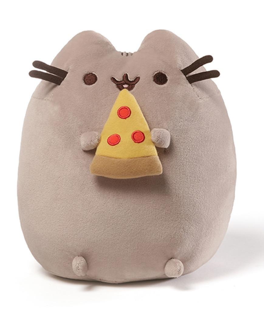 Pusheen the Cat: Pusheen Pizza Plush (24cm) image