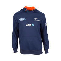 NZ Blackcaps Replica Training Hoodie Kids - Medieval Blue (Size 6)