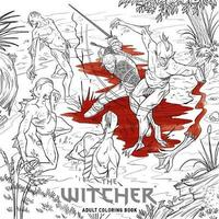 The Witcher Adult Coloring Book by CD Projekt Red
