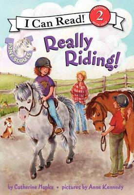Pony Scouts: Really Riding! by Catherine Hapka image