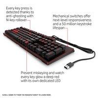 OMEN 1100 Gaming Keyboard for PC image
