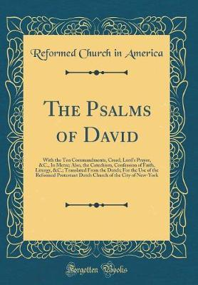 The Psalms of David by Reformed Church in America image