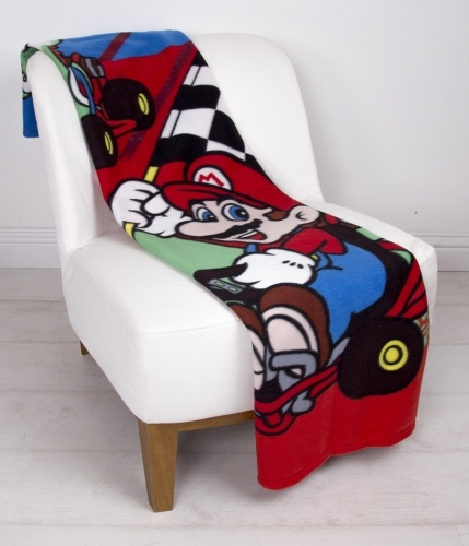 Nintendo Mario Fleece Blanket