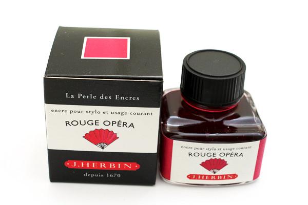 J Herbin: Fountain Pen Ink - Rouge Opera (30ml)