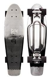 "Penny: Metallic Skateboard - Gunmetal (27"")"