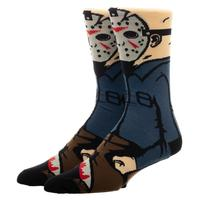 Friday the 13th: Jason 360 Character - Crew Socks
