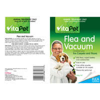 Vitapet: Flea & Vacuum Powder (300g)