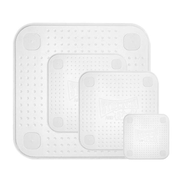 Ape Basics: Reusable Silicone Food Wraps (Set of 4)